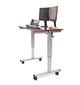 Luxor Stand Up Desk Model Number- STANDUP-CF48-DW