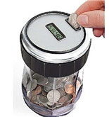 Magnif EZ-Count Money Jar Digital Coin Counter Prod. #3550