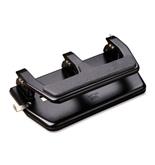 Master Master Three Hole Punch , Black
