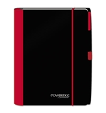 Cambridge Accents Business Notebook, Red, Legal Rule, Medium (45238)