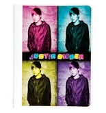 Mead Justin Bieber Composition Book, 80CT Wide Rule, 4 Photos Design (72613)