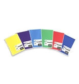Mead Spiral Bound Notebook, College Rule, 8-1/2 x 11, Assorted colors, 100 Sheets/Pad (06622)