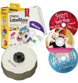Memorex CD/DVD LabelMaker Labeler Starter Kit