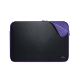 Merkury Innovations 16 Inch Neoprene Laptop Sleeve (Black/Purple)