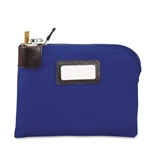 MMF Industries 2330981W08 - Seven-Pin Security/Night Deposit Bag, Two Keys, Nylon, 11 x 8.5, Navy-MMF2330981W08