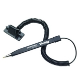 MMF Industries Wedgy Secure Antimicrobial Pen with Scabbard Holder, Black (25828604)