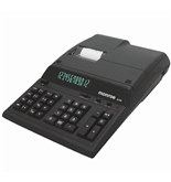 Monroe 8130 Black Heavy Duty Desktop Printing Calculator
