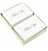Masterpiece Studios Gold Thank You- Pack of 48 Cards & 48 Envelopes - 10624