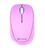 Microsoft Compact Optical Mouse, Strawberry Sorbet Pink - 500 V2