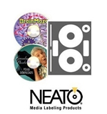 Neato CLP-192121 PhotoMatte CD/DVD Labels - 100 CD Labels (50 Sheets)
