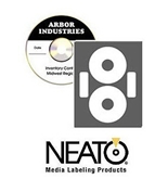 Neato - EconoMatte CD/DVD Labels - 500 Pack