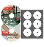 Neato - High Gloss Photo Quality Mini CD Labels - 100 Pack
