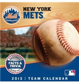 New York Mets Mlb 2013 Box Calendar by Perfect Timing