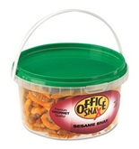 Office Snax OFX00052 All Tyme Favorite Nuts, Sesame Snax Mix, 13 oz Tub
