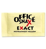 Office Snax OFX00062 Nutrasweet Yellow Sweetener