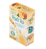 Office Snax OFX02724 Flavor Stix for Bottled Water Sugar-Free Peach Tea .07 oz 10 Stix