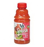 Office Snax OFX14655 V-8 Splash Strawberry Kiwi 16 oz Bottle 12 Box