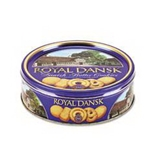 Office Snax OFX53005 Royal Dansk Cookies Danish Butter 12 oz Tin