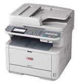 Okidata 62438701 Laser Fax Copier Printer Clear Scanner Net Dup 62438701