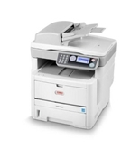 Okidata MB470 MFP (120V) Laser Printer, Fax, Copier & Scanner with Network Card - 62433201