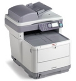 Okidata MC360 Multifunction Laser Color Printer