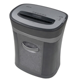 10-Sheet Micro-Cut Shredder, Locking casters , Pull-out bin - OMO2750