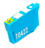 Genuine OEM Epson T042220 T0422 Cyan Ink Cartridge