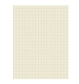 "Pacon Quadrille Ruled Heavyweight Drawing Paper, 1/4"" Squares, Manila, Pack of 500 Sheets (2852)"