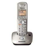 Panasonic KX-TG4011N DECT 6.0 PLUS Expandable Digital Cordless Phone, Champagne Gold, 1 Handset (KXTG4011N)