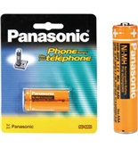 Panasonic NiMH AAA Rechargeable Battery for Cordless Phones (HHR-4DPA)