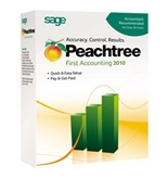 "Peachtree First Accounting ""10 [CD-ROM] [Software] - Used - Like New"