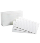 Pendaflex Oxford Ruled Index Cards, 3x5 Inches, White, 1000 Cards (ESS31)