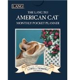 Perfect Timing - Lang 2013 American Cat Monthly Pocket Planner (1003106)
