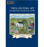 Perfect Timing - Lang 2013 Folk Art Monthly Pocket Planner (1003112)