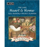 Perfect Timing - Lang 2013 Heart and Home Monthly Pocket Planner (1003111)