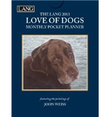 Perfect Timing - Lang 2013 Love Of Dogs Monthly Pocket Planner (1003113)