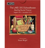 Perfect Timing - Lang 2013 Schoolhouse Monthly Pocket Planner (1003117)