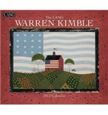 Perfect Timing - Lang 2013 Warren Kimble Wall Calendar (1001610)