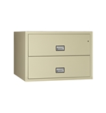 "Phoenix 2 drawer lateral fire file, 44"" wide, legal and letter size, key lock"