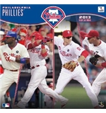 "Philadelphia Phillies 12"" x 12"" 2013 Wall Calendar"