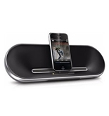 Philips Fidelio DS7550 2.0 Speaker System - 10 W RMS - Aluminum. PORTABLE SPEAKERDOCK FOR IPHONE /IPOD AVDOCK. iPod Support