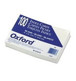 Plain Index Cards, 4 x 6, White, 100 Cards/Pack (ESS40) Category: Index Cards and Index Card Boxes