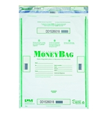 PM Company SecurIT Degradable Triple-Protection Tamper-Evident Deposit Bags, 20 x 20 Inches, 50 Per Pack (PMC 58053)