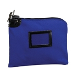 PMC04600 SecurIT Blue Army Duck Night Deposit Bag with Pop-Up Lock