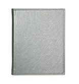 POST Photo Brag Book, Saffiano Silver, 5 x 6.5-Inch
