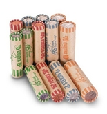 Preformed Coin Sorter Rolls Wrappers by Royal Sovereign (Qty 216)