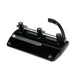 32-SHEET LEVER ACTION TWO TO SEVEN HOLE ADJUSTABLE PUNCH