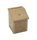 Pyramid Technologies Wood Suggestion Box