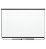 Quartet TEM548B Prestige 2 Total Erase Magnetic Whiteboard, 8- x 4-, Black