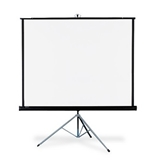Quartet Portable Tripod Projection Screen, 70 x 70 Inches, High-Resolution, Matte Surface (570S)